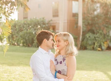 Jenn + Rob's Engagement Session in Naples, Florida