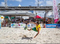 Aruba Beach Tennis Sand Action