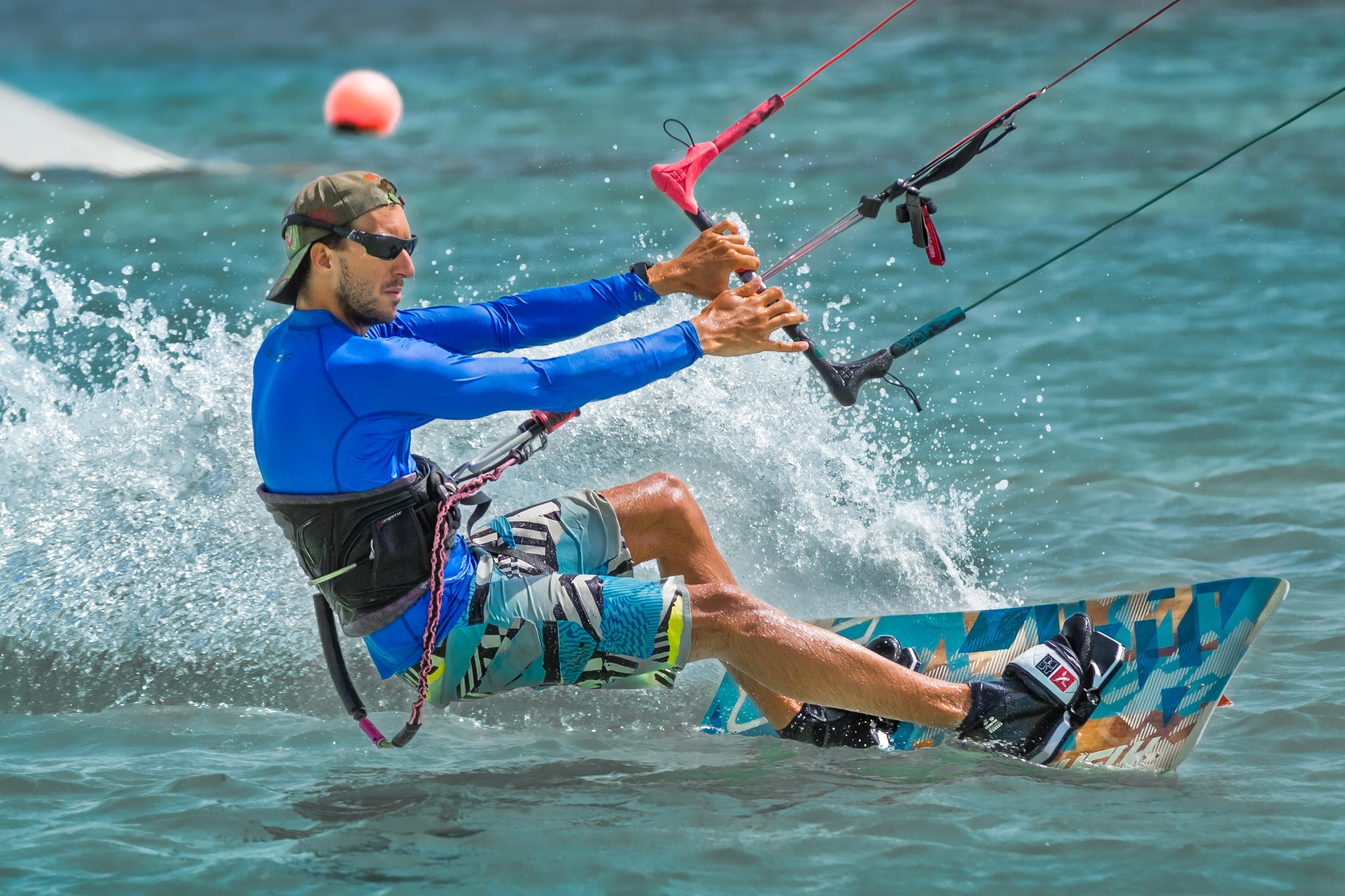 Aruba Kitesurfer Blue Shirt