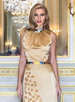 Model Natalia Eremenko for Designer Olga Papkovitch - Photographer Tony Filson for KissMyKite