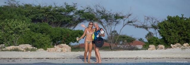 Behind the scenes Aruba Fashion & Sports Photography
