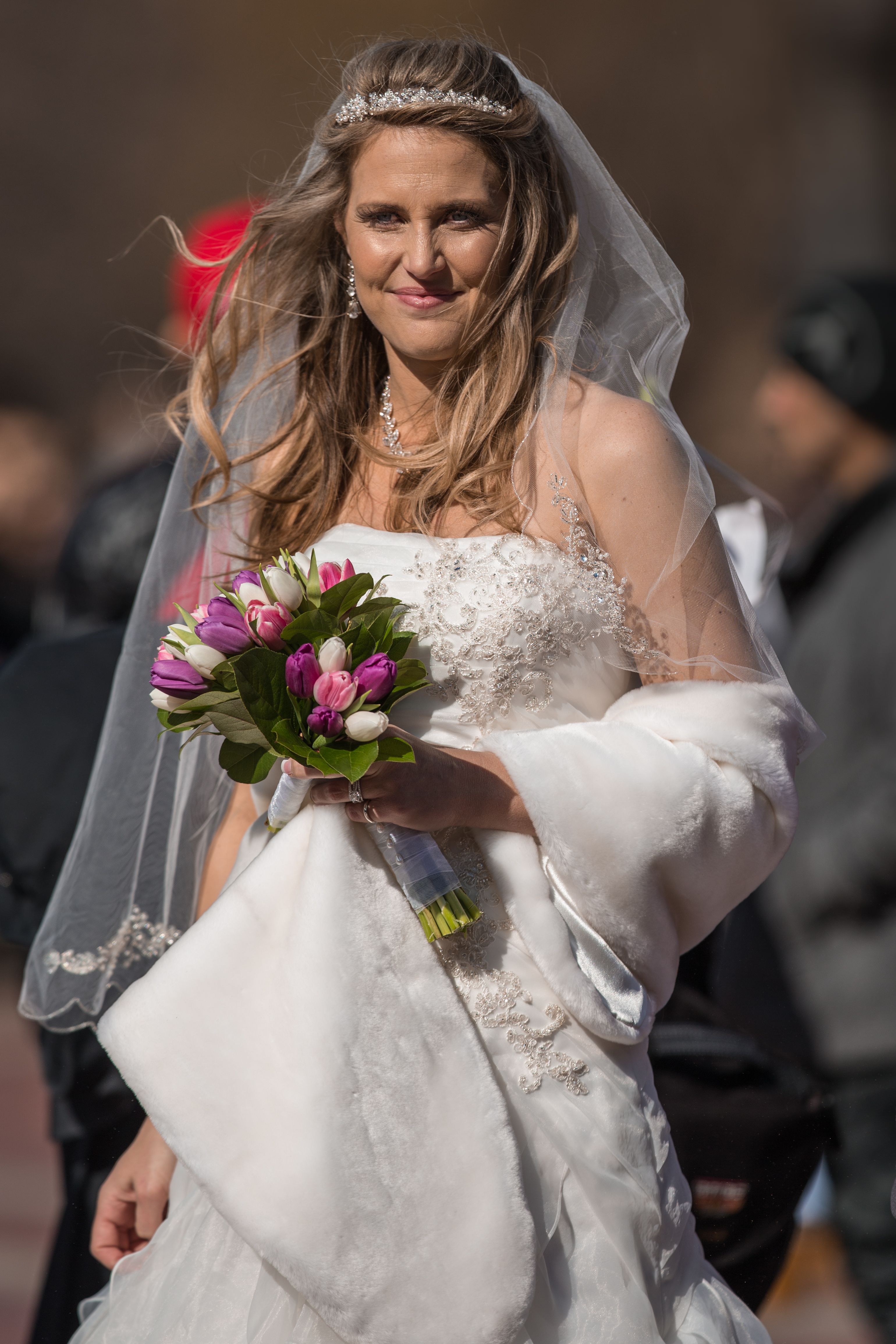 Bride in Gown NYC Central Park Photo