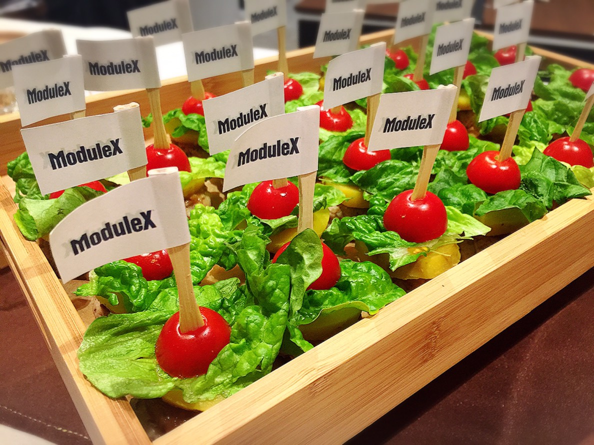 MODULEX CATERING CHICKEN PINTXOS