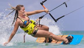 Nathalie Zack Kitesurfing Athlete