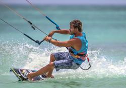 Ignacio Dotto Kitesurfing in Aruba