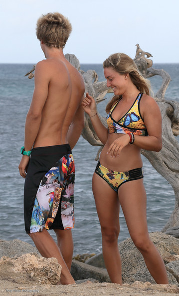 Phillip and Nathalie PopImpreesKA Swimwear
