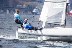 Nicole van der Velden Aruba Sailing