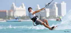 Niki Zach Aruba Kitesurfing