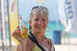 Helene Filson Beach Tennis in Aruba