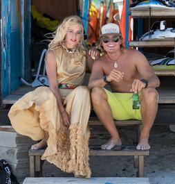 Sanne Sanne and Niki Zach Aruba