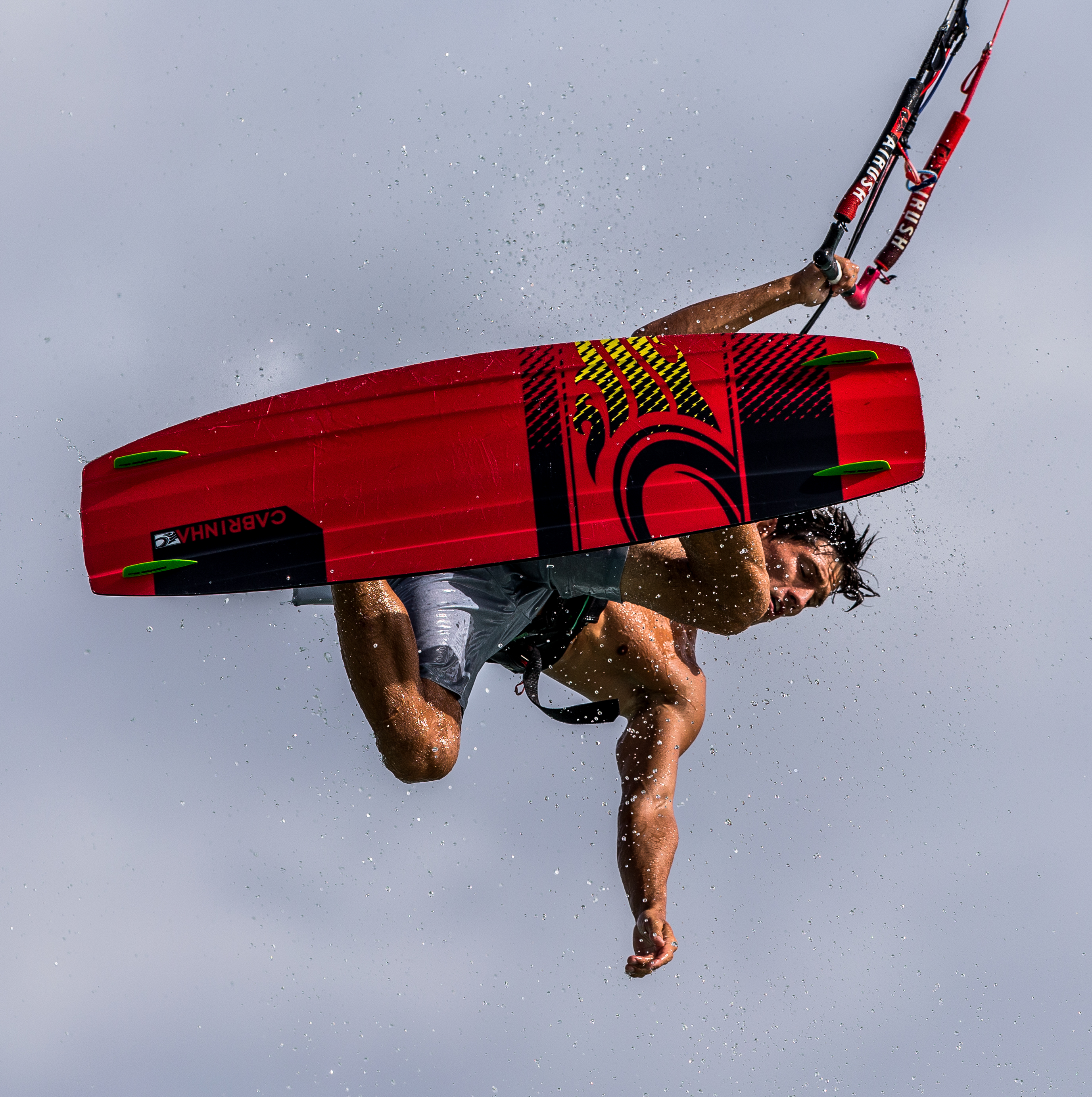 Scott Smit Kitesurfing in Aruba