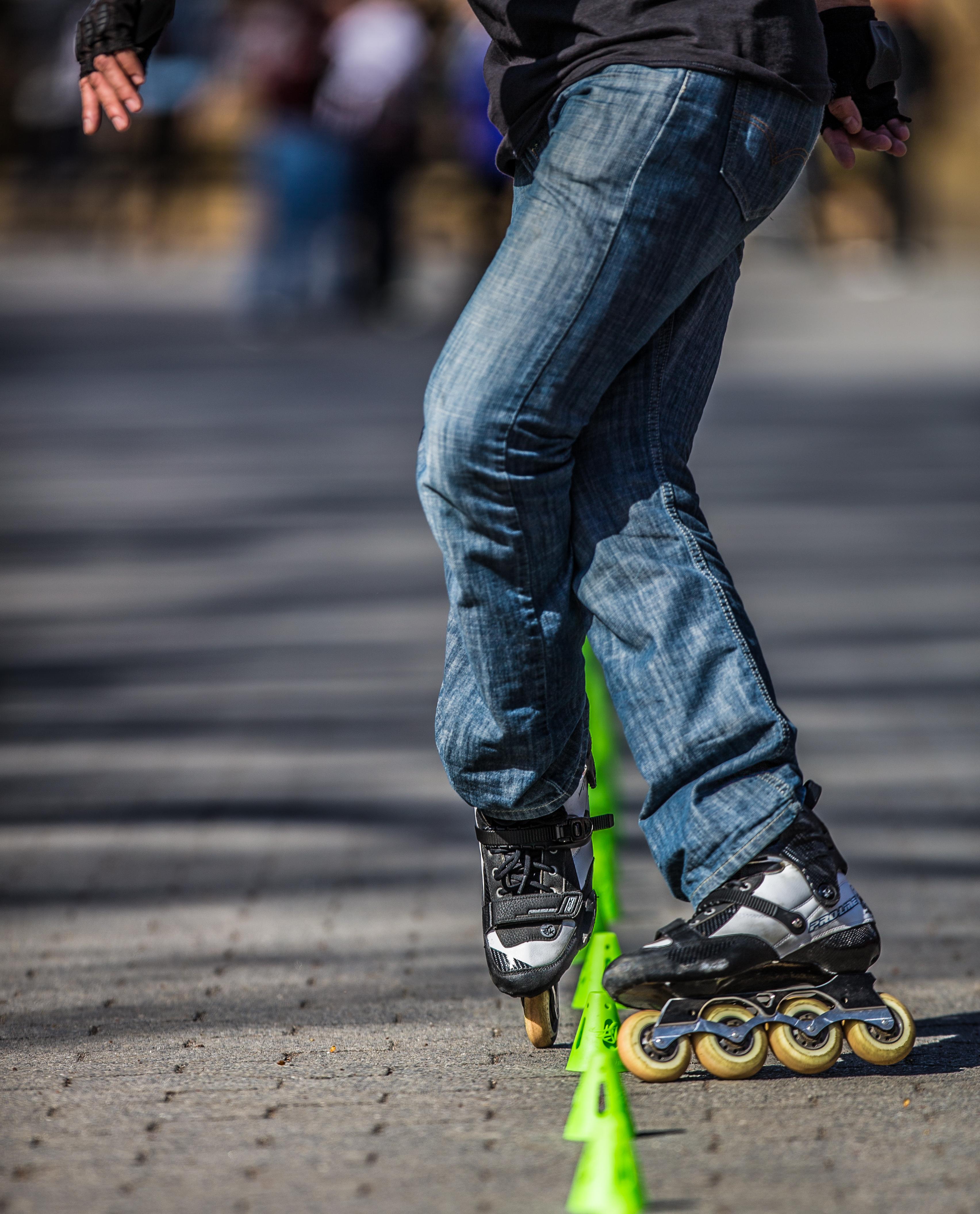 NYC Skater in Central Park