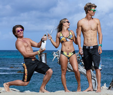 Niki Nathalie and Phillip in Aruba