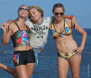 Behind the scenes Fashion Shoot Aruba