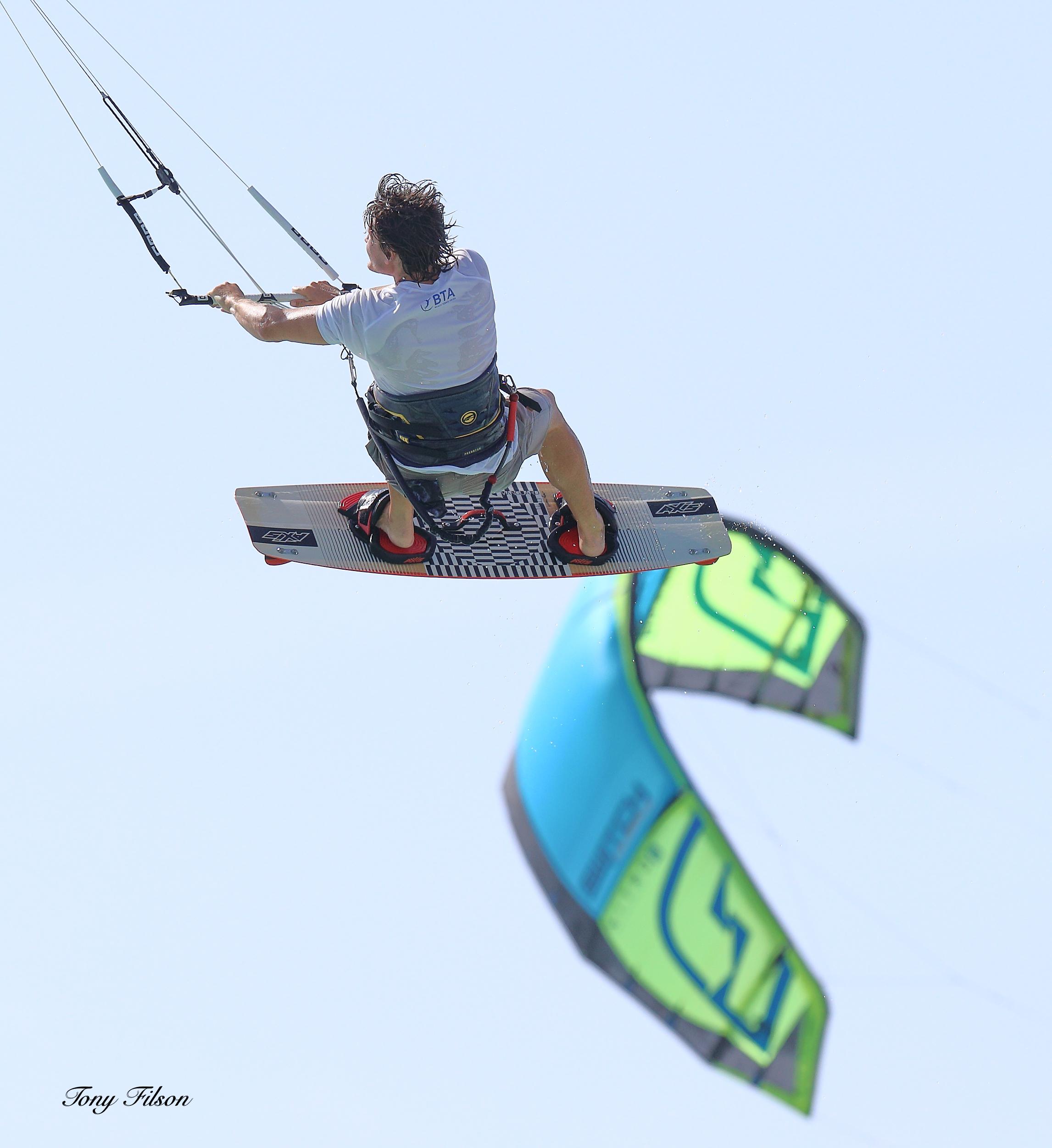 Kitesurfing Champion Niki Zach