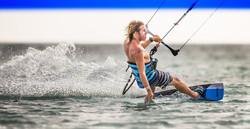 Remco Vd Berg Kitesurfing in Aruba