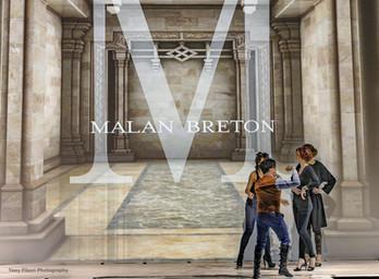 Malan Breton   InStyle NYFW