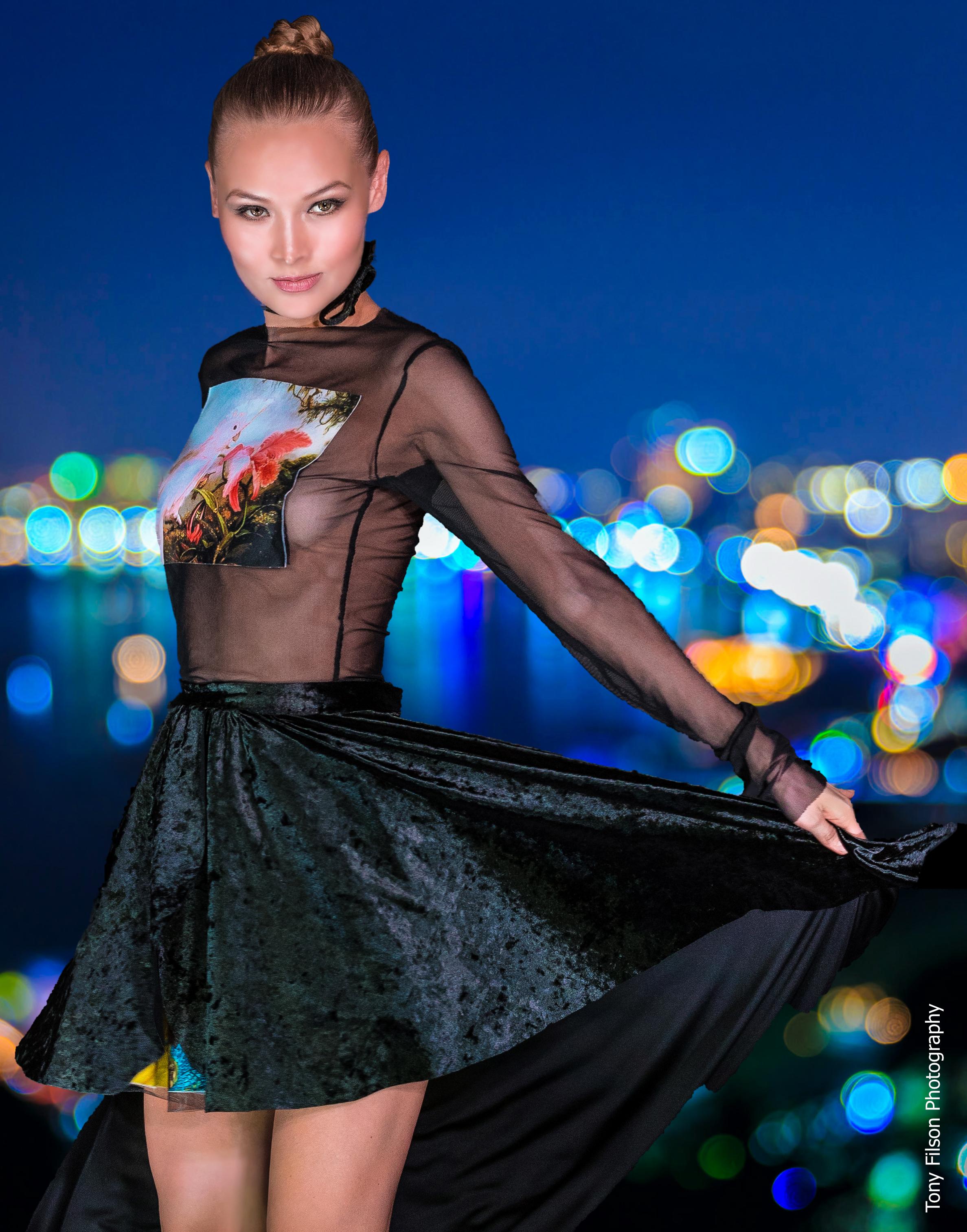 Stefaniya Makarova for Olga Papkovitch