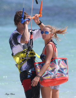 Phillip and Aleksa at Boca