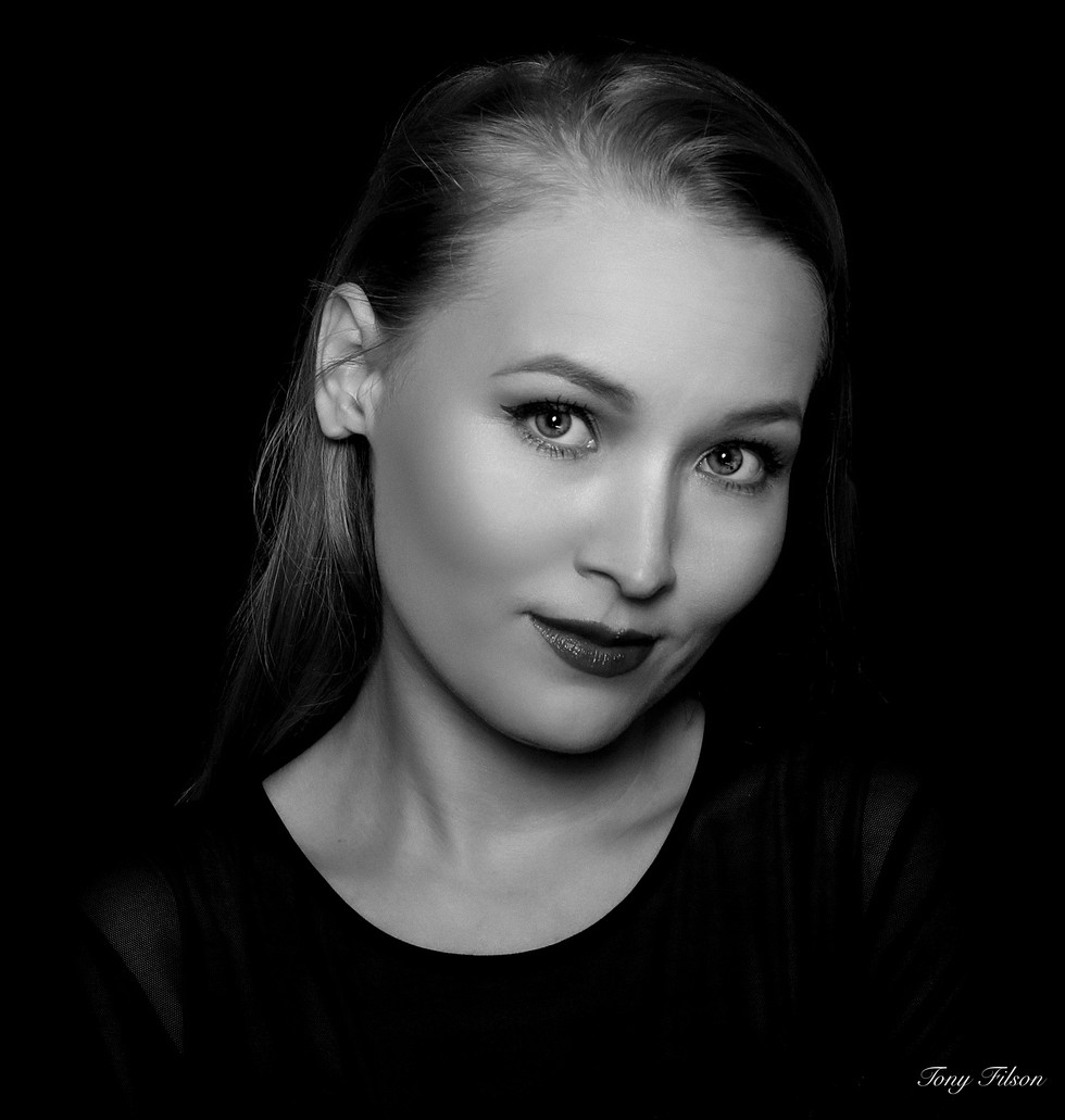 Stefaniya Makarova Portrait For The Photographer