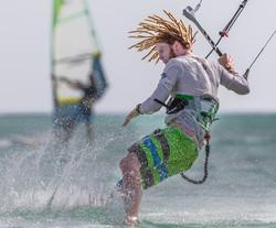 Bart Kole Kitesurfing in Aruba