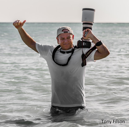Behind the scenes with sports photographer Tony Filson