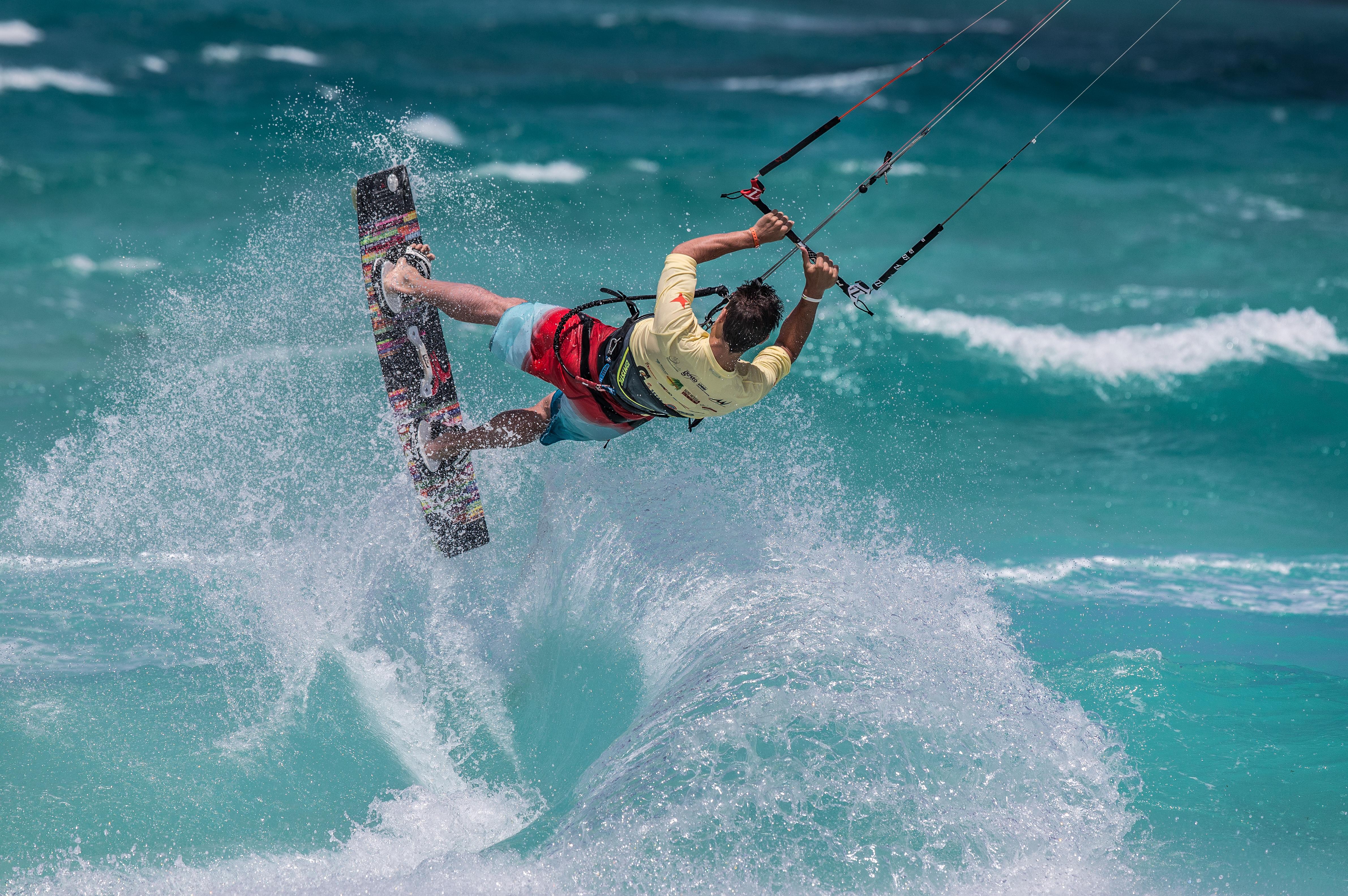 Kitesurfing Boca Grandi Aruba