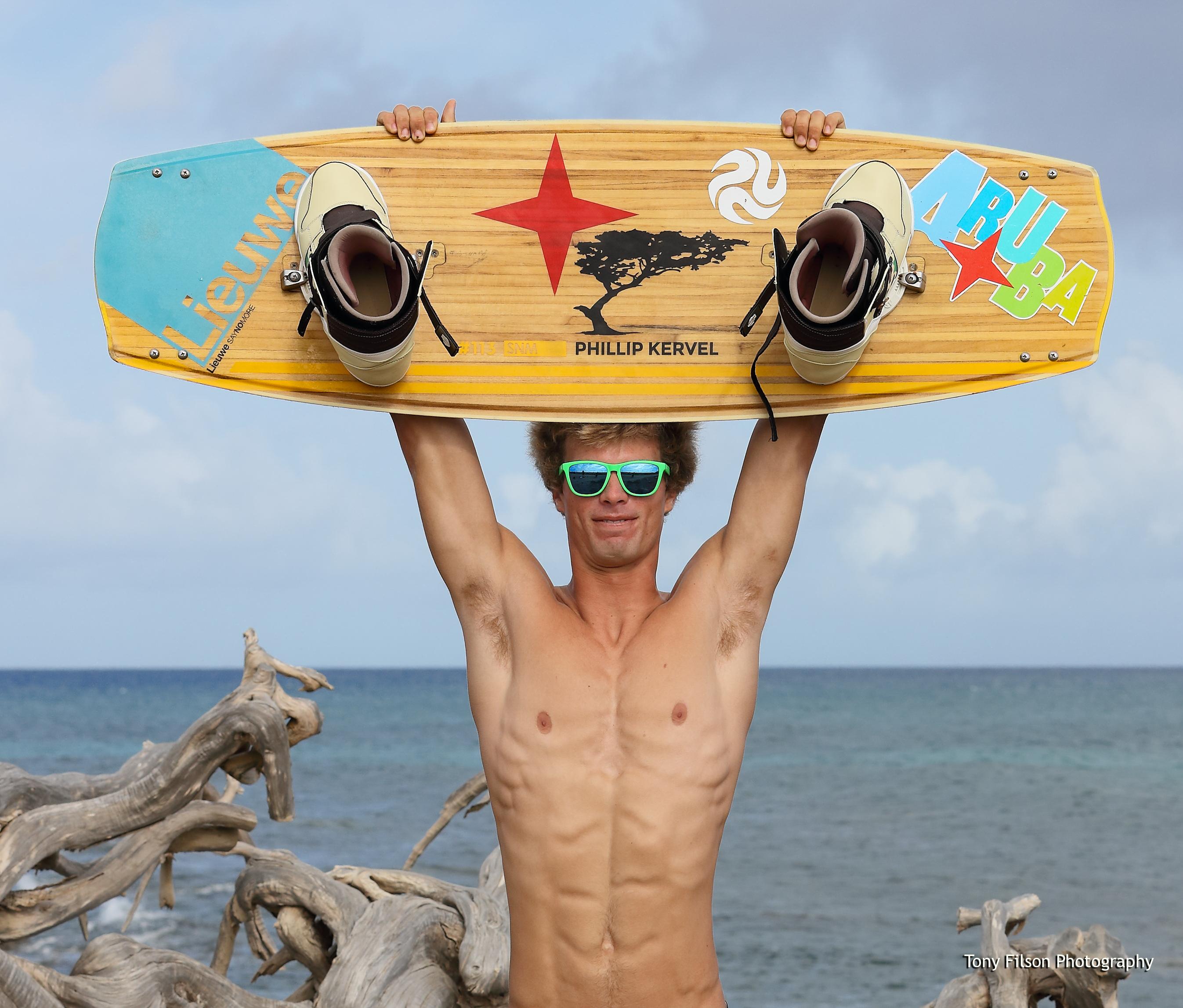Phillip Kervel Kitesurfing Champion