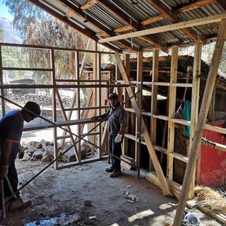 Nueva estructura de madera