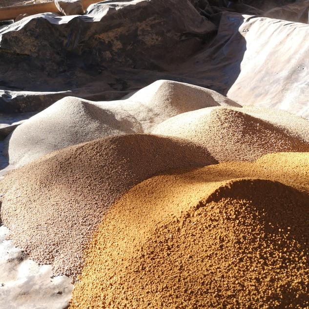 Materias primas para estucos finos