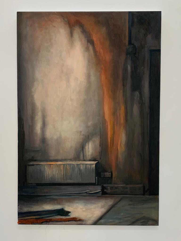 Lee Maelzer, Rusting Room, 2020, oil on canvas