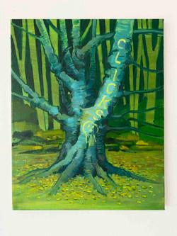 Max Mason, 'Clicks', 2020, acrylic on canvas