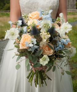 Bridal Bouquet Dunans Castle