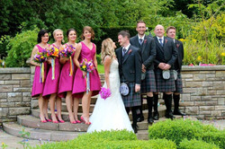 Summer Wedding Carberry Tower