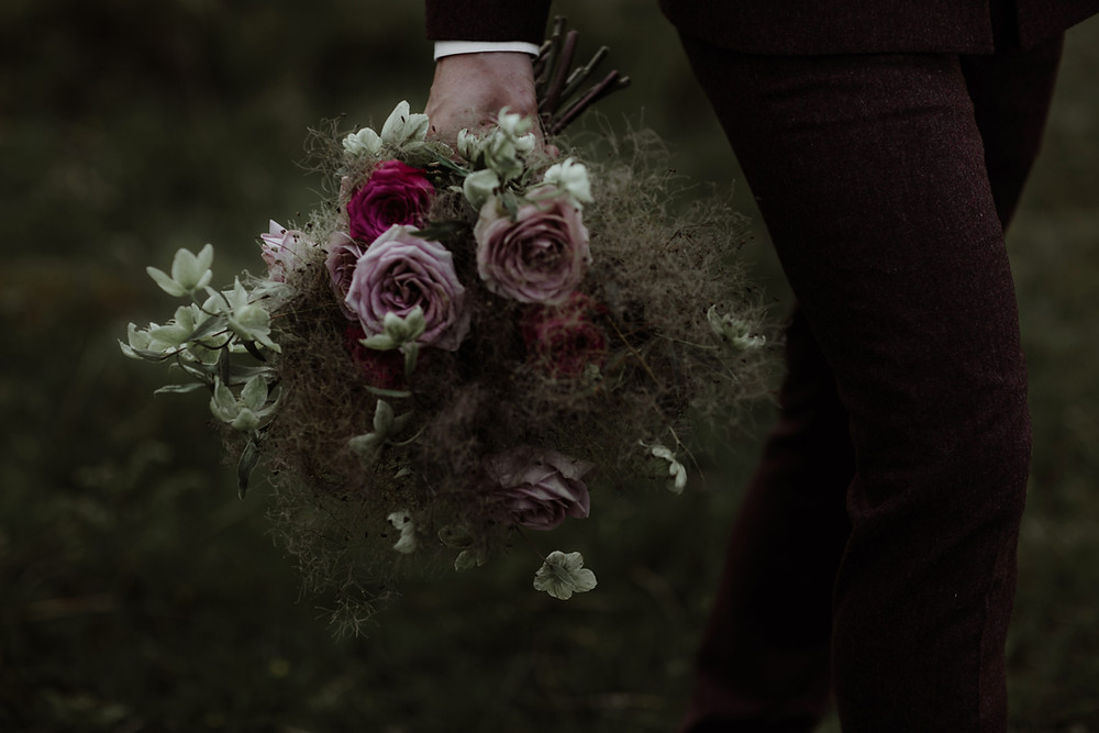 Bridal Bouquet for Elopement Wedding