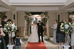 Floral Wedding Decor, Loch Lomond