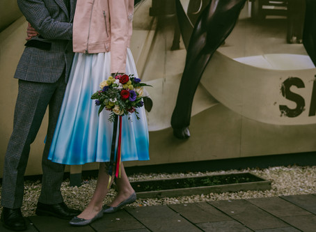 Alternative, Colourful Glasgow Wedding at St Lukes