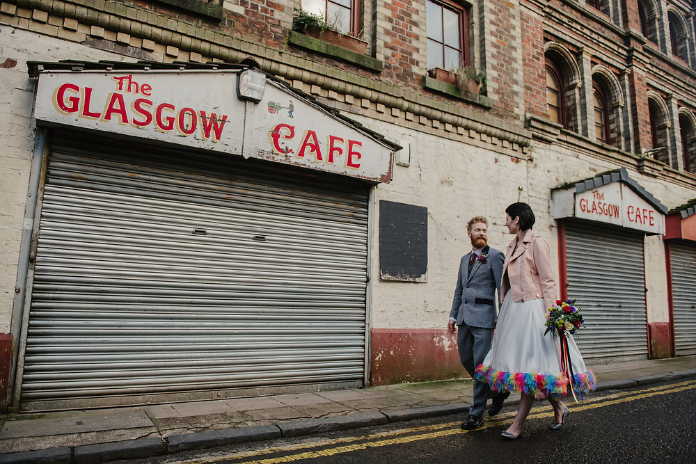 Wedding at Glasgow Barras/Barrowlands