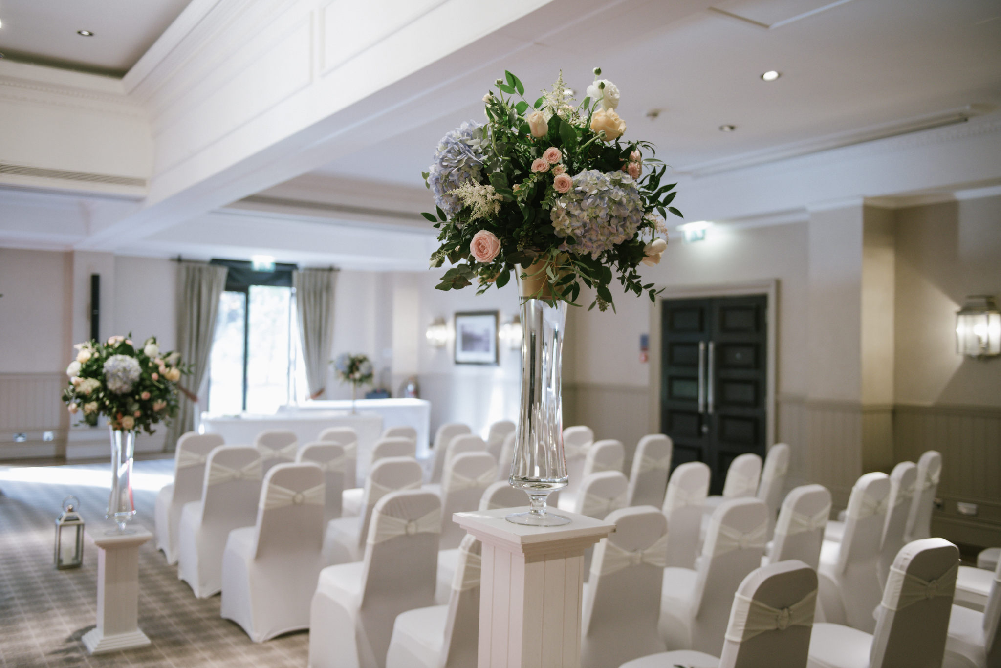 Floral Wedding Decor, Loch Lomond