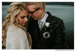 Winter Wedding Loch Lomond