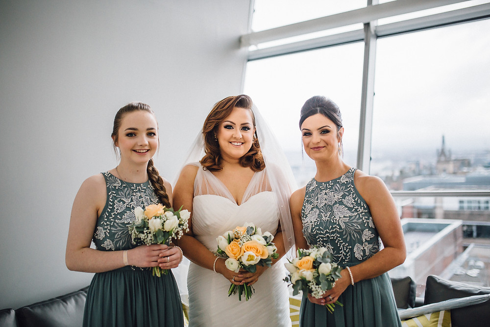 Bride and Bridesmaids image by Fairytale Asylum Photography