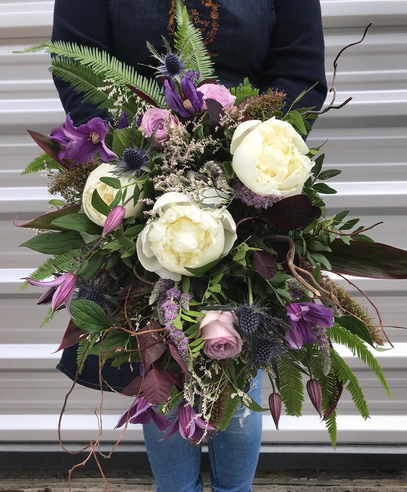 Rustic Bridal Bouquet Barn Wedding