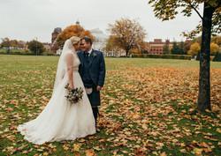 Autumnal Glasgow Wedding