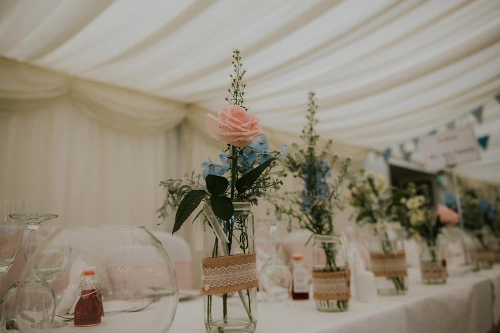 Wedding Flowers, Centrepieces, The Floral Design Boutique