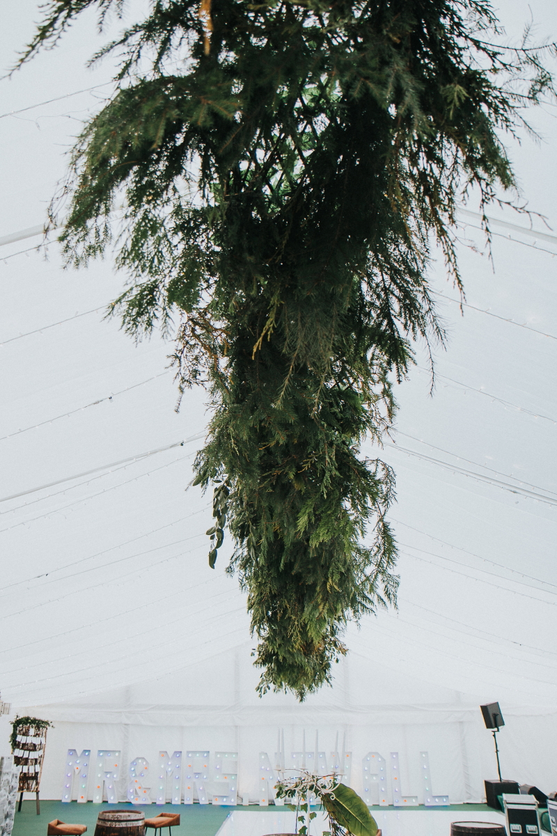 Large Hanging Foliage
