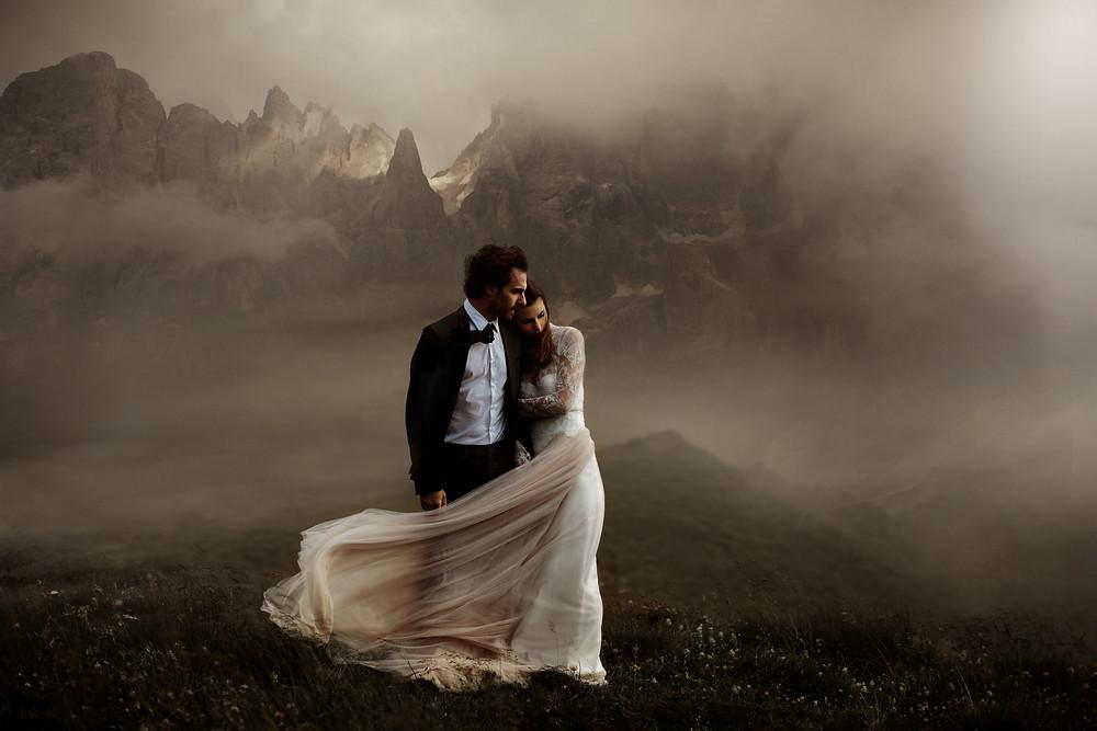 Elopment wedding Photography Dolomites