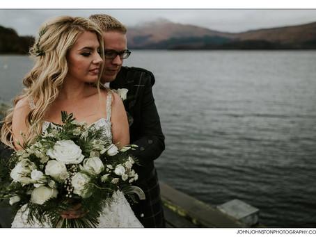 Winter Wedding Inspiration - Cameron House Hotel, Loch Lomond, Scotland
