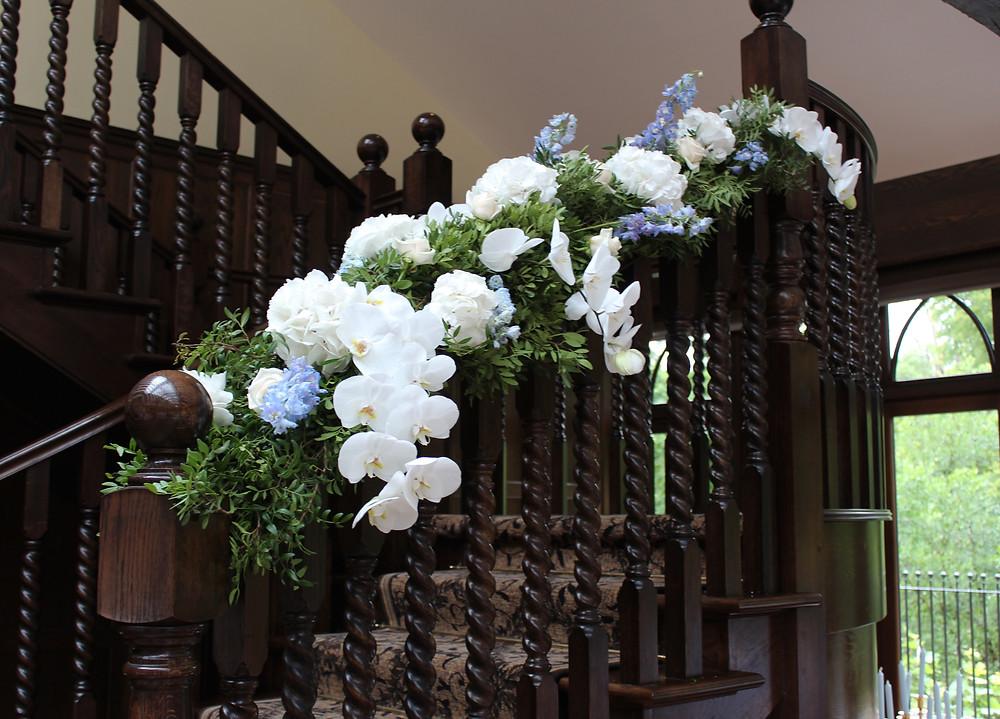 Floral Staircase Crossbasket Castle
