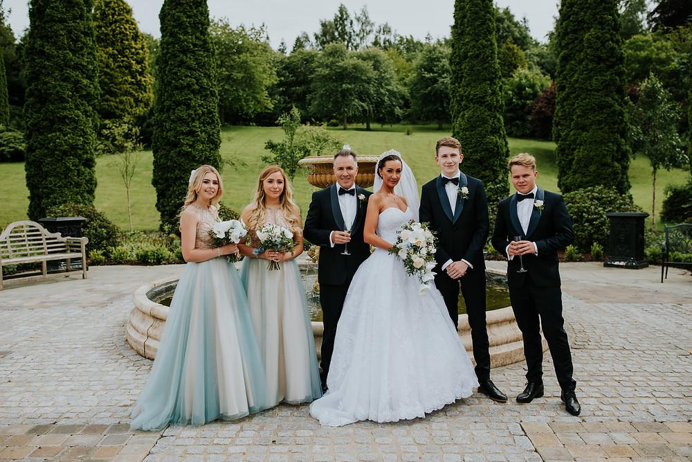 Wedding Flowers Crosssbasket Castle