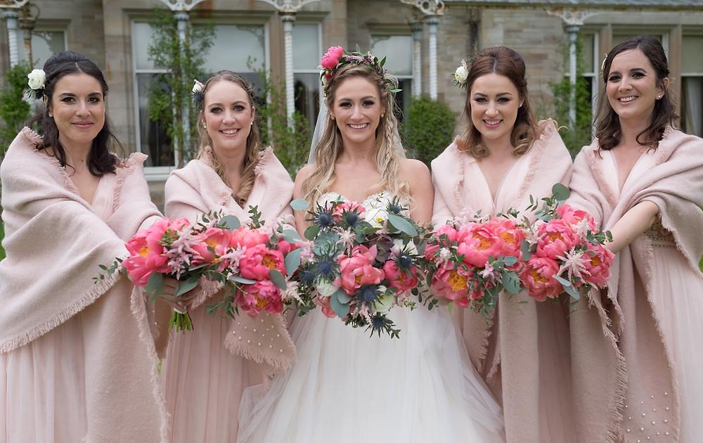 Wedding Flowers Ardtornish Estate